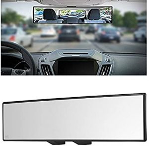 universal accessories for cars-Yoolight Car Universal 12 inch Interior Clip On Panoramic Rear View Mirror