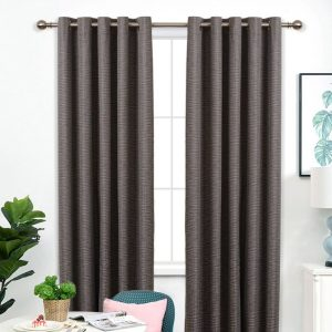 Bamboo Blockout Eyelet Curtain 220cm & 250cm Drop