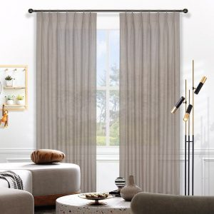 Curtains in Australia Harper Sheer Pinch Pleat Curtains