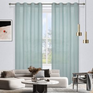 Madison Sheer Eyelet Curtain 220cm Drop