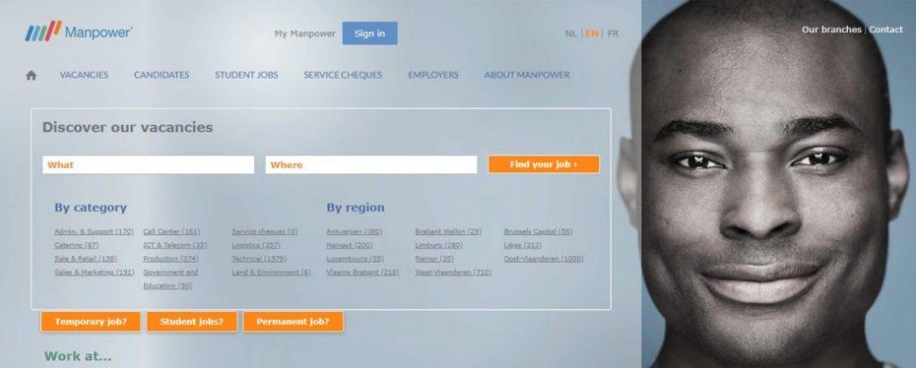 recruitment agencies Belgium