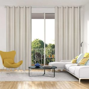 Piper Blockout Eyelet Curtain 220cm & 250cm Drop