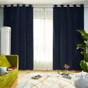 Savanna Room Darkening Eyelet Curtain 220cm & 250cm Drop