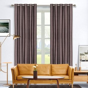 Selina Blockout Eyelet Curtain 220cm & 250cm Drop