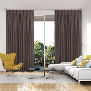 Curtains in Australia Selina Blockout Pinch Pleat Curtains