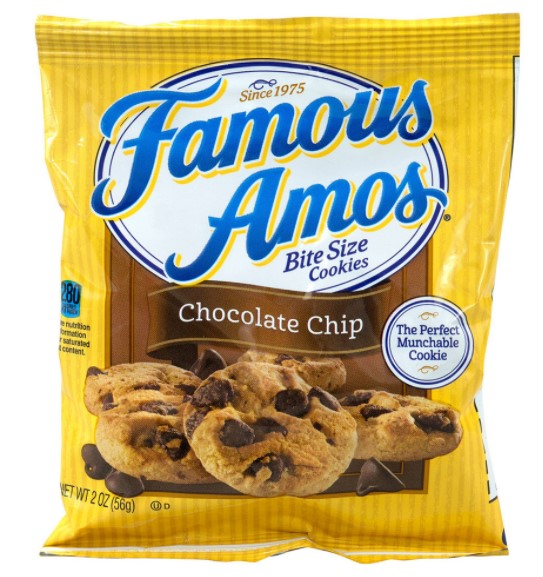 Famous Amos- best cookie brands