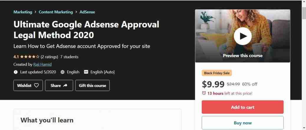 Ultimate Google Adsense Approval method