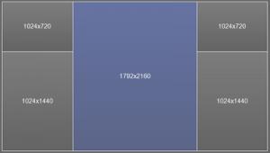 Ultraview Desktop Manager - Split Screen Monitor