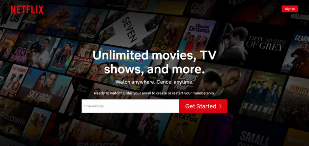 Netflix - moviegaga alternative