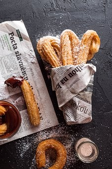 Churros, Bakery Products, Cookies