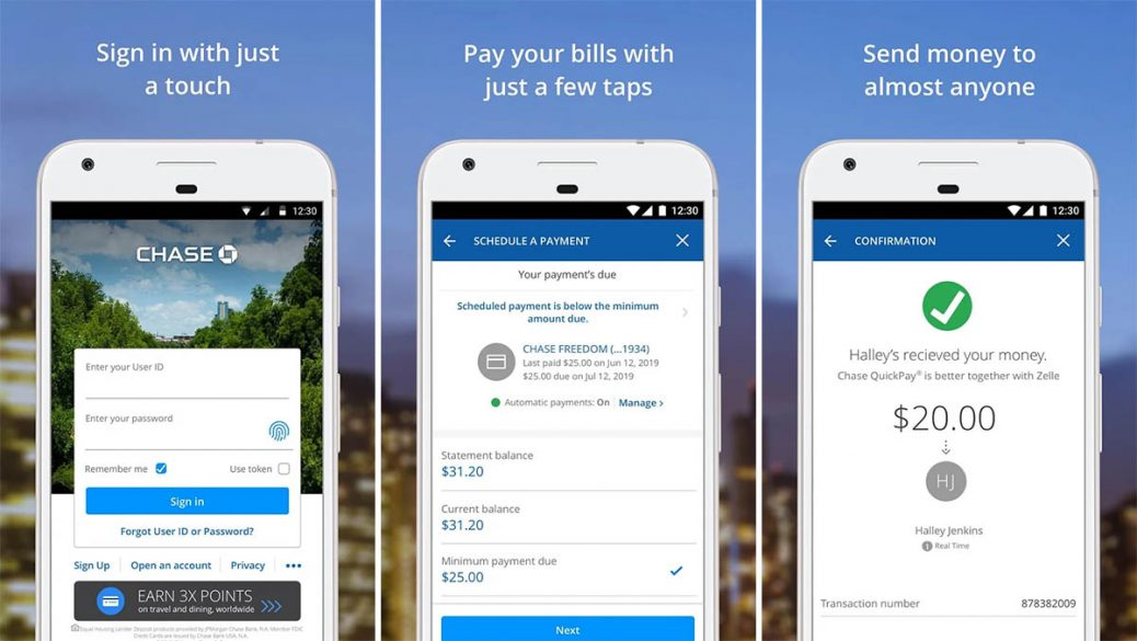 Chase Mobile is one of the best budget apps