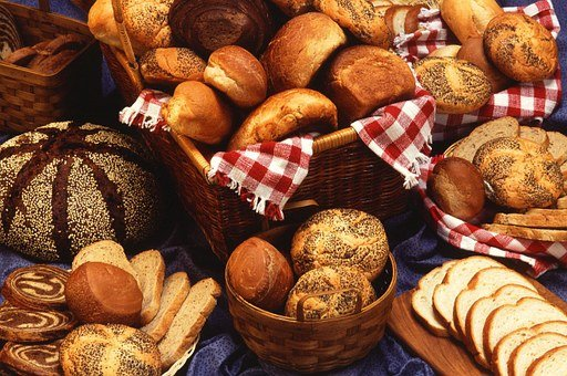 Breads, Foods, Baked, Bakery
