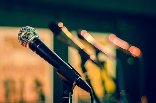 Mic, Microphone, Sound Check, Sing