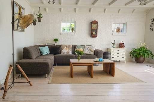 Living Room, Couch, Interior, Room, Home