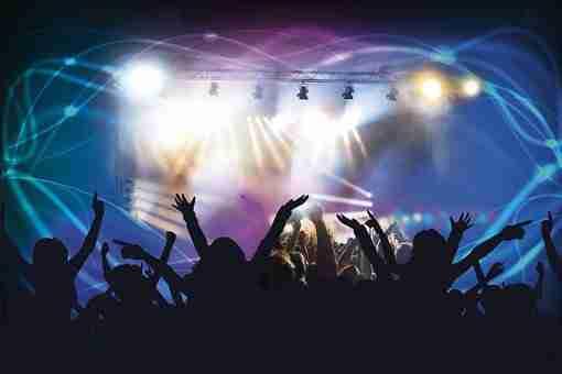 Live Concert, Dance Club, Disco, Laser