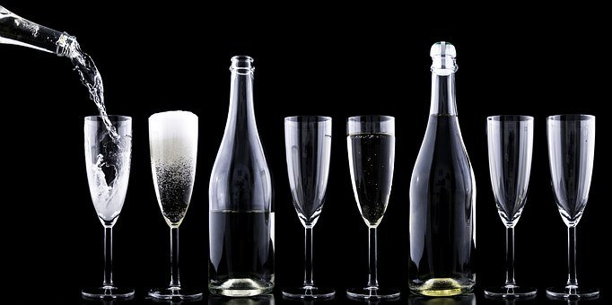 Champagner, Toasting, New Year'S Eve