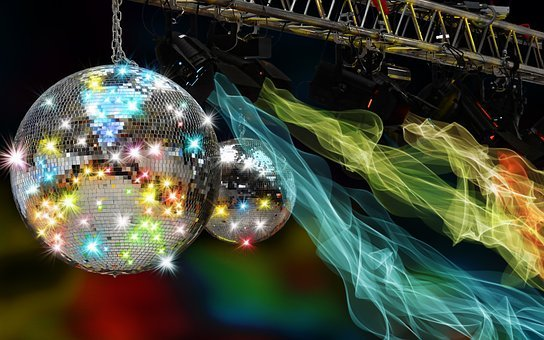 Disco, Party, Celebration, Mirror Ball